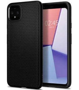"""Juodas dėklas Google Pixel 4 telefonui """"Spigen Liquid Air"""""""
