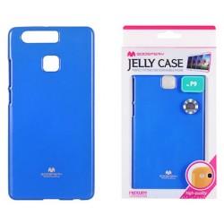 """Mėlynas dėklas Mercury Goospery """"Jelly Case"""" Huawei P9 telefonui"""