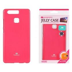 """Rožinis dėklas Mercury Goospery """"Jelly Case"""" Huawei P9 telefonui"""