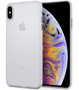 "Skaidrus dėklas Apple iPhone XS Max telefonui ""Spigen Airskin"""
