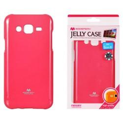 """Rožinis dėklas Mercury Goospery """"Jelly Case"""" Samsung Galaxy J5 2016 J510 telefonui"""