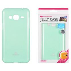 """Mėtos spalvos dėklas Mercury Goospery """"Jelly Case"""" Samsung Galaxy J3 2016 J320 telefonui"""