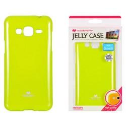 """Žalias dėklas Mercury Goospery """"Jelly Case"""" Samsung Galaxy J3 2016 J320 telefonui"""