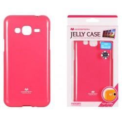 """Rožinis dėklas Mercury Goospery """"Jelly Case"""" Samsung Galaxy J3 2016 J320 telefonui"""