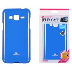 """Mėlynas dėklas Mercury Goospery """"Jelly Case"""" Samsung Galaxy J3 2016 J320 telefonui"""