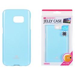 """Šviesiai mėlynas dėklas Mercury Goospery """"Jelly Case"""" Samsung Galaxy S7 G930 telefonui"""