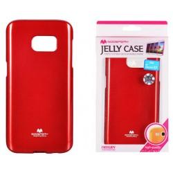 """Raudonas dėklas Mercury Goospery """"Jelly Case"""" Samsung Galaxy S7 G930 telefonui"""