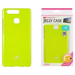 """Žalias dėklas Mercury Goospery """"Jelly Case"""" Huawei P9 telefonui"""