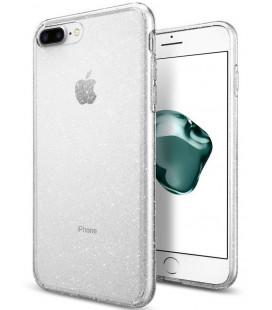 """Skaidrus dėklas su blizgučiais Apple iPhone 7 Plus / 8 Plus telefonui """"Spigen Liquid Crystal Glitter"""""""