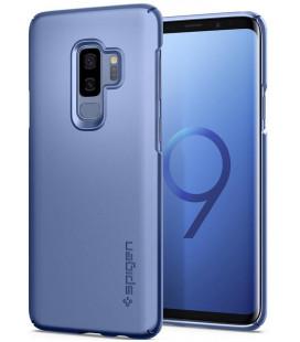 "Mėlynas dėklas Samsung Galaxy S9 Plus telefonui ""Spigen Thin Fit"""
