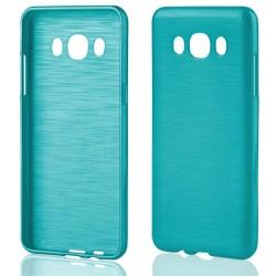 """Samsung Galaxy J5 2015 J510 Mėlynas silikoninis telefono dėklas """"Jelly Metallic"""""""
