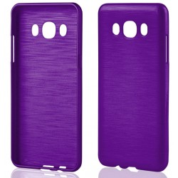 """Samsung Galaxy J5 2015 J510 Violetinis silikoninis telefono dėklas """"Jelly Metallic"""""""