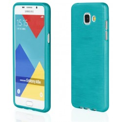 "Samsung Galaxy A5 2015 A510 Mėlynas silikoninis telefono dėklas ""Jelly Metallic"""
