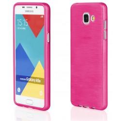 """Samsung Galaxy A5 2015 A510 Rožinis silikoninis telefono dėklas """"Jelly Metallic"""""""