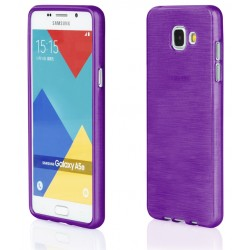 """Samsung Galaxy A5 2015 A510 Violetinis silikoninis telefono dėklas """"Jelly Metallic"""""""