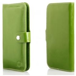 """Žalias universalus atverčiamas telefono dėklas 4.0""""-4.7"""" telefonams"""