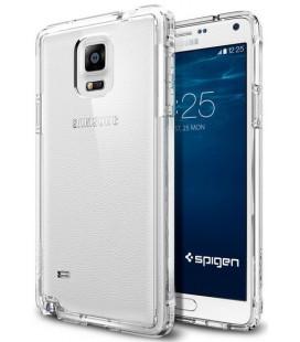 "Skaidrus dėklas Samsung Galaxy Note 4 telefonui ""Spigen Ultra Hybrid"""