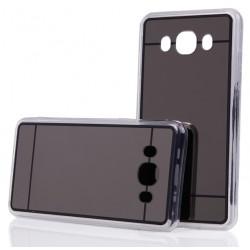 """Juodas silikoninis dėklas Samsung Galaxy J5 2016 J510 telefonui """"Mirror"""""""