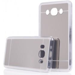 """Sidabrinės spalvos silikoninis dėklas Samsung Galaxy J5 2016 J510 telefonui """"Mirror"""""""