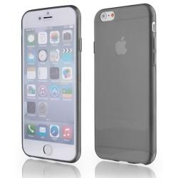 Skaidrus plonas 0,3mm silikoninis dėklas iPhone 6 telefonui + Apsauginė ekrano plėvelė