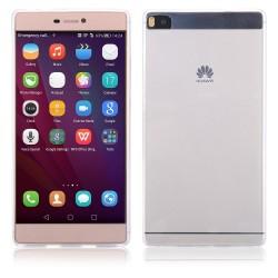 Skaidrus plonas 0,3mm silikoninis dėkla Huawei Ascend P8 telefonui