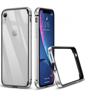 """Sidabrinės spalvos dėklas Apple iPhone XR telefonui """"ESR Crown"""""""