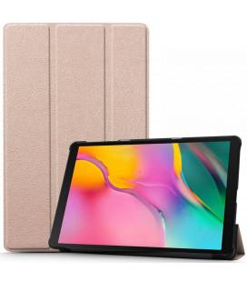 """Rausvai auksinės spalvos atverčiamas dėklas Samsung Galaxy Tab S5E 10.5 2019 T720/T725 planšetei """"Tech-Protect Smartcase"""""""
