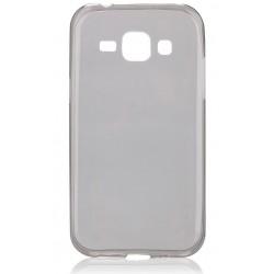 """Juodas silikoninis dėklas Samsung Galaxy J1 telefonui """"Fitty"""""""