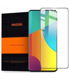 """Juodas apsauginis grūdintas stiklas Samsung Galaxy A71 telefonui """"Mocolo TG Full Glue"""""""