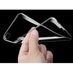Skaidrus plonas 0,3mm silikoninis dėklas LG K10 K430 telefonui