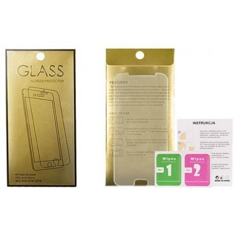 """Apsauginis grūdintas stiklas LG K10 """"GOLD"""""""