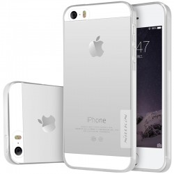 "Skaidrus dėklas Apple iPhone 5/5s/SE Telefonui ""Nillkin Nature"""