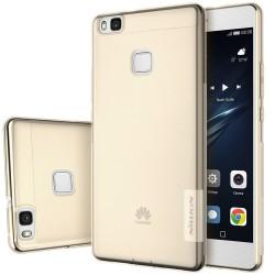 """Rudas silikoninis dėklas Huawei P9 Lite Telefonui """"Nillkin Nature"""""""