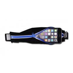 Šviesiai mėlyni apsauginiai grūdinti stiklai Apple iPhone 6 telefonui (Priekiui ir galui)