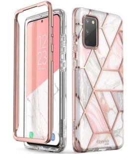 """Dėklas su marmuro efektu Samsung Galaxy S20 telefonui """"Supcase Cosmo"""""""