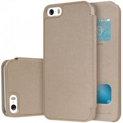 """Auksinės spalvos atverčiamas dėklas LG G4 telefonui """"WOW Bumper View Mercury"""""""