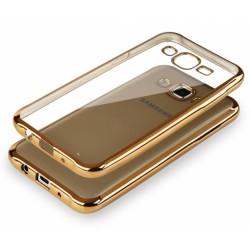 """Auksinės spalvos silikoninis dėklas Samsung Galaxy J5 J500 Telefonui """"Glossy"""""""
