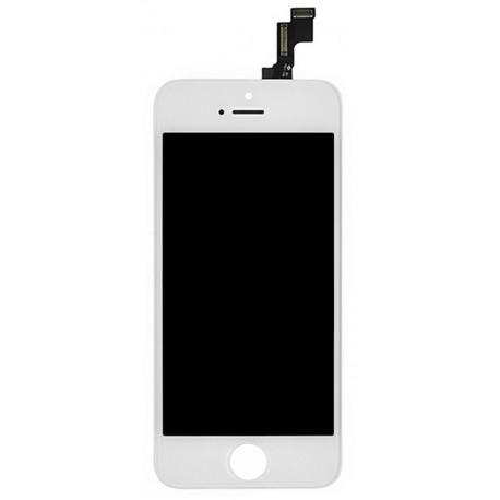 Apple iPhone 5s LCD ekranas (baltas) OEM