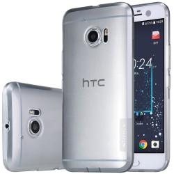 """Pilkas silikoninis dėklas HTC 10 (one M10) Telefonui """"Nillkin Nature"""""""