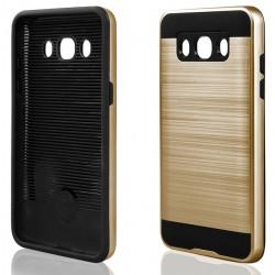 """Auksinės spalvos dėklas Samsung Galaxy J5 2016 J510 telefonui """"Motomo""""vos dėklas Samsung Galaxy J5 telefonui """"Motomo"""""""