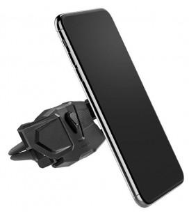 """Juodas automobilinis telefonų laikiklis į groteles """"Spigen Click.R"""""""