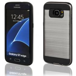 """Pilkas dėklas Samsung Galaxy S7 Edge G935 telefonui """"Motomo"""""""