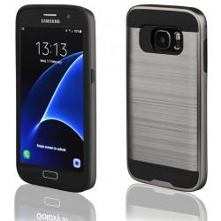 """Pilkas dėklas Samsung Galaxy S7 G930 telefonui """"Motomo"""""""