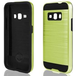 """Žalias dėklas Samsung Galaxy J1 2016 J120 telefonui """"Motomo"""""""