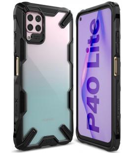 """Juodas dėklas Huawei P40 Lite telefonui """"Ringke Fusion X"""""""