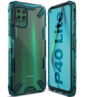 """Žalias dėklas Huawei P40 Lite telefonui """"Ringke Fusion X"""""""