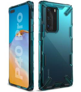 """Žalias dėklas Huawei P40 Pro telefonui """"Ringke Fusion X"""""""