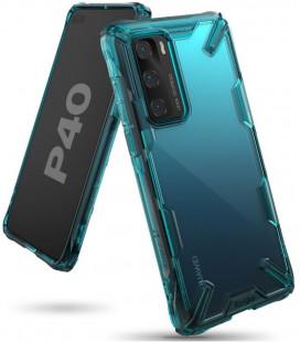 """Žalias dėklas Huawei P40 telefonui """"Ringke Fusion X"""""""