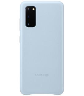 "Originalus mėlynas dėklas ""Leather Cover"" Samsung Galaxy S20 telefonui ""EF-VG980LLE"""