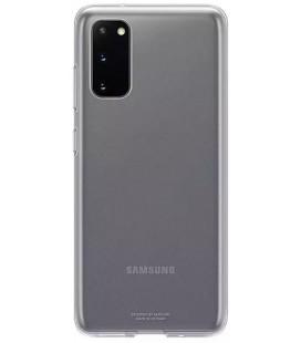 "Originalus skaidrus dėklas ""Clear Cover"" Samsung Galaxy S20 telefonui ""EF-QG980TTE"""